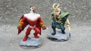 Disney Infinity 2.0: Falcon and Loki Impressions