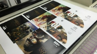 Ink Hits Paper - Watch LANTERN CITY #1 go to Press