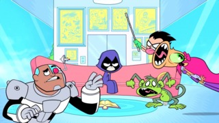"""Teen Titans Go! Episode 100 Clip - """"And the Award For Sound Design Goes to Rob"""""""