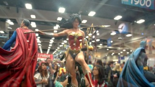 SDCC 2015: Sideshow Collectibles Booth