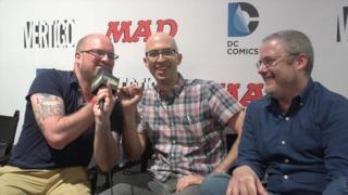 SDCC 2015: Van Jensen and Robert Venditti talk Barry Allen and Reverse Flash