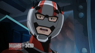 """Marvel's Ultimate Spider-Man: Web-Warriors - """"Ant-Man"""" Clip"""