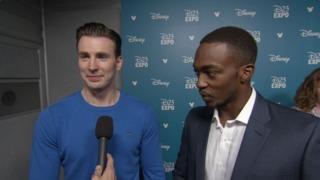 D23: Chris Evans & Anthony Mackie Discuss 'Captain America: Civil War' Clip and Marvel Studios