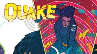 Exclusive Preview: QUAKE SHIELD 50th ANNIVERSARY #1