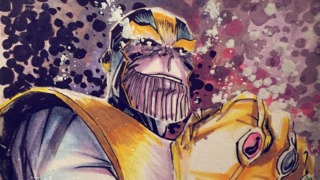 Awesome Art Picks: Thanos, Wolverine, Harley Quinn, and More