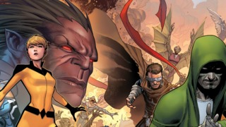 Exclusive: Jim Cheung 5-Part Connecting UNCANNY INHUMANS Variant Covers
