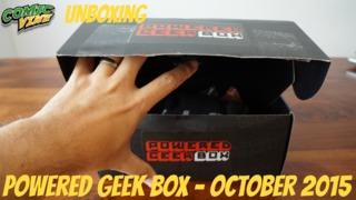 Unboxing: Powered Geek Box - September 2015