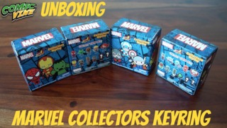 Unboxing: Marvel Collectors Keyrings