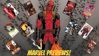 Marvel Comics Previews: 11/18/15