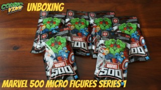 Unboxing: Marvel 500 Micro Figures Blind Bags - Series 1
