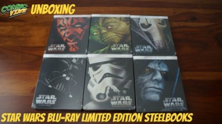 Unboxing: Star Wars Blu-ray Limited Edition Steelbooks