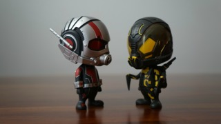 Awesome Toy Picks: Ant-Man & Yellowjacket Cosbaby Vinyls from Hot Toys