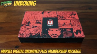 Unboxing: Marvel Digital Unlimited Plus Welcome Package