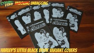 Unbagging: HARLEY'S LITTLE BLACK BOOK Variant Covers