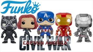 Funko Announces 'Captain America: Civil War' Pop! and Dorbz Figures
