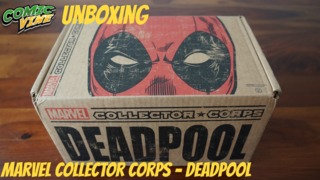 """Unboxing: Funko's Marvel Collector Corps """"Deadpool"""" Month Subscription Box"""
