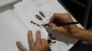 Mystery Art Challenge: Joel Gomez - Deadpool and a...?