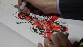 Mystery Art Challenge Supercut: Deadpool and a...?