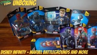 Unboxing: Disney Infinity 3.0 - Marvel Battlegrounds & More