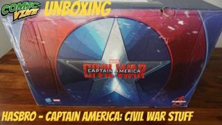 Hasbro Captain America: Civil War Unboxing