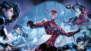 Dan Abnett & Brett Booth Talk Wally West and Bringing Back the Original Titans