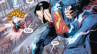 Dead Character Returns During Superman/Lex Luthor Fight