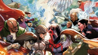 INHUMANS VS X-MEN Shakes up the Marvel Universe