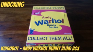 Unboxing: Kidrobot - Andy Warhol Dunny Blind Box