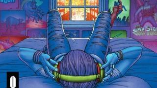 Jesse Blaze Snider Combines Comics and Music in BLACK LIGHT DISTRICT