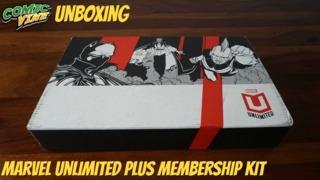 Unboxing: Marvel Unlimited Plus Membership Kit