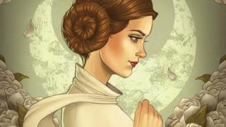 Awesome Art Picks: Carrie Fisher/Princess Leia Tribute