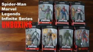 Unboxing: Spider-Man Marvel Legends Infinite Series