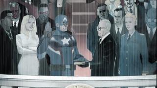 Captain America Launches His Secret Empire