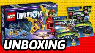 Unboxing: LEGO Dimensions - LEGO Batman Movie & Knight Rider
