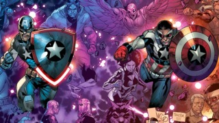 Check Out Connecting Captain America Covers by R.B. Silva