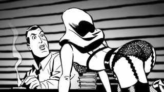 Batman Black & White Motion Comics [video] Review