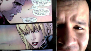 JLA #31, What's Up Black Canary's...Nose?