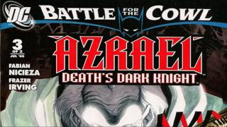 BFTC: Azrael: Death's Dark Knight #3, Is Azrael Staying?