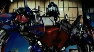 Optimus Prime's Top Ten On Letterman