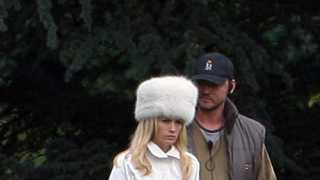 X-Men: First Class: Young Professor X Cast and Emma Frost on Set