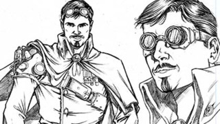 Tony Lee discusses his influences for Steampunk Battlestar: Galactica 1880