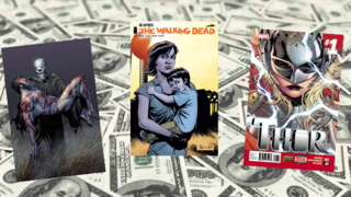 Top Selling Comics & Publisher Market Share: October 2014