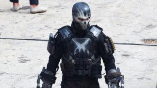 Photos Reveal What Crossbones Will Look Like in Captain America Civil War