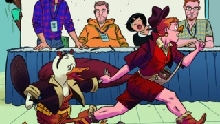 NYCC 2015: Ryan North and Chip Zdarsky Talk the Howard the Duck and Squirrel Girl Crossover