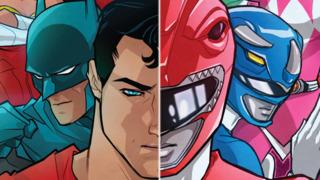 Batman and the Justice League Team Up With the Power Rangers in New Comic