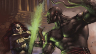 Exclusive Previews: GREEN HORNET: OUTCAST & RED SONJA: ATLANTIS RISES TP