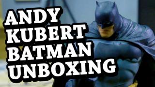 Andy Kubert Batman Unboxing