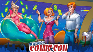 Jetsons New Comic Book: NYCC interview with Amanda Conner and Jimmy Palmiotti