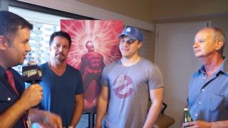 SDCC 2014 Geoff Johns, John Romita Jr, and Klaus Janson SUPERMAN Interview