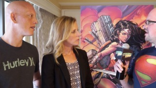 SDCC 2014 David and Meredith Finch WONDER WOMAN Interview